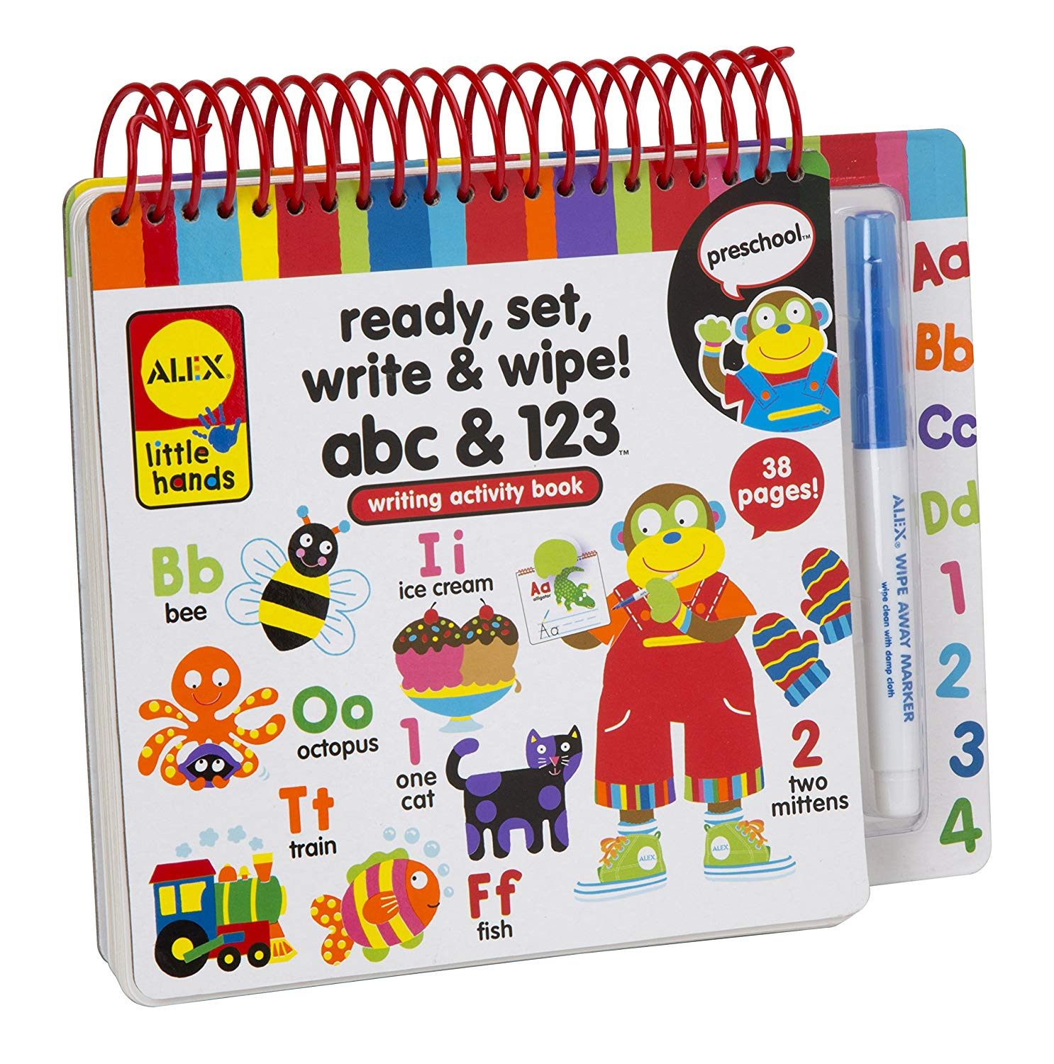Alex Toys Early Learning Ready Set Write Little Hands