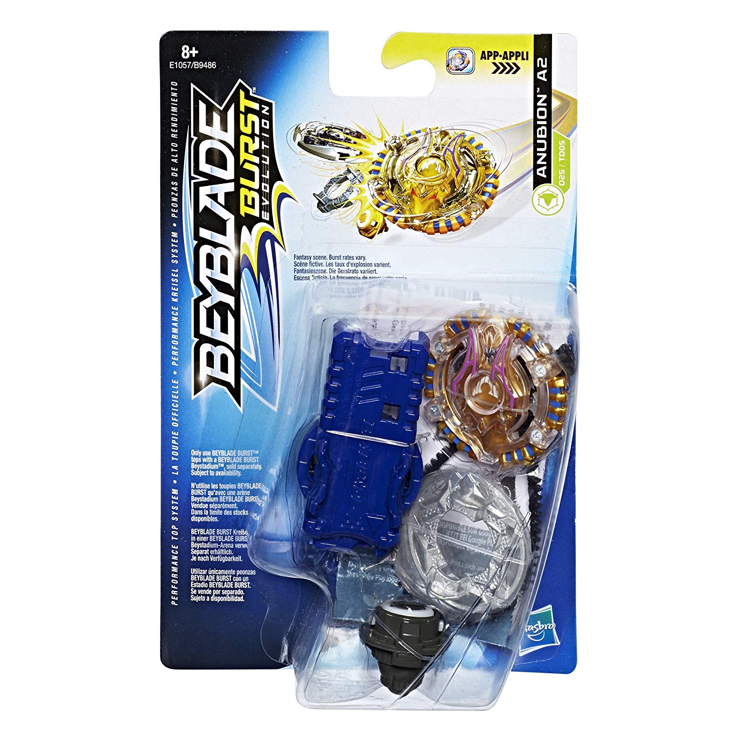 Beyblade–anubion A2Toy Starter Pack, E1057