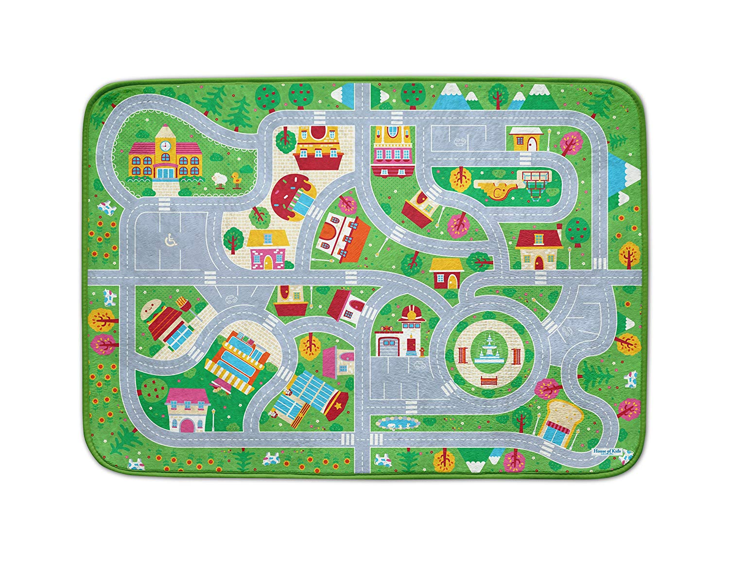 House of Kids 88247, polyester, Multicolored, 95 x 0,5 x 70 cm