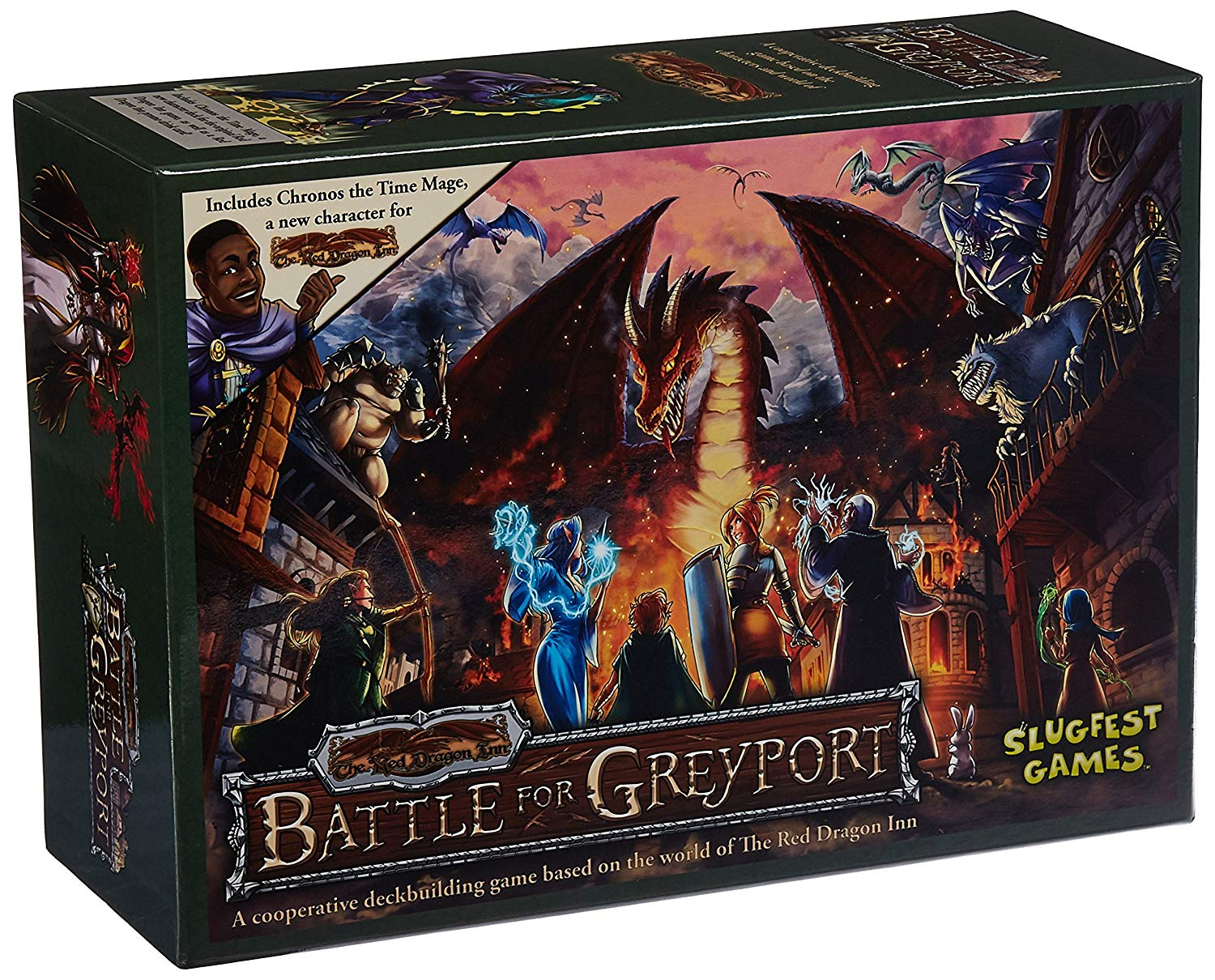 'Slug Party Games SFG00023 – Card Game Red Dragon Inn: Battle for Grey Port