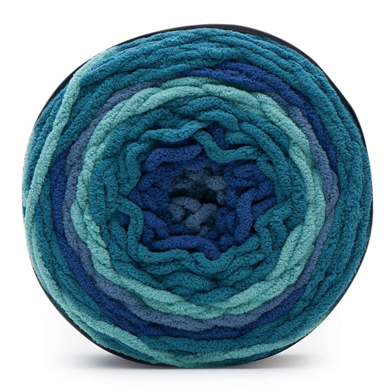 Bernat Blanket stripes -300g- Stormy Sky