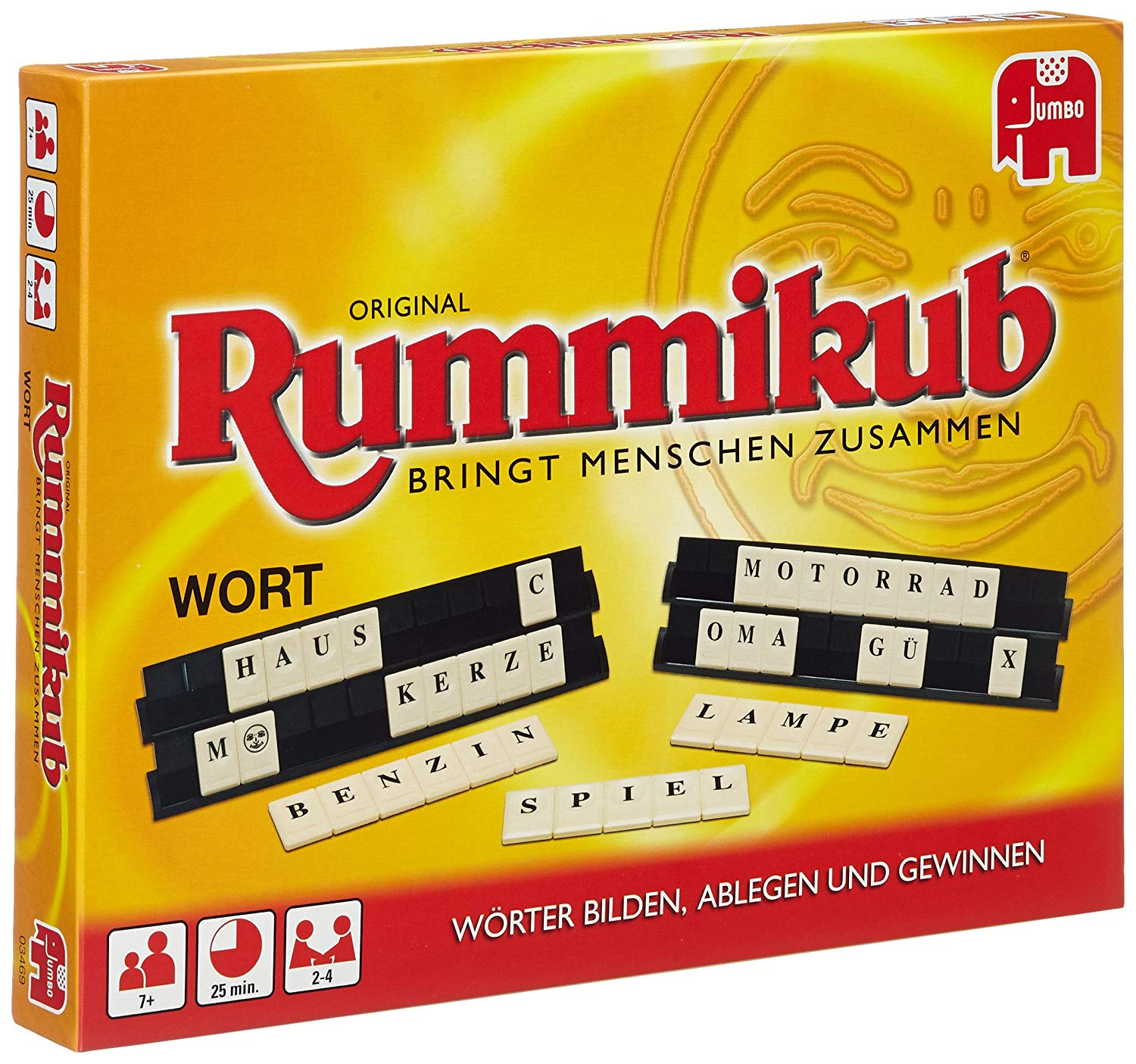 Disney Jumbo 03469 Wort Rummikub Game (in German)