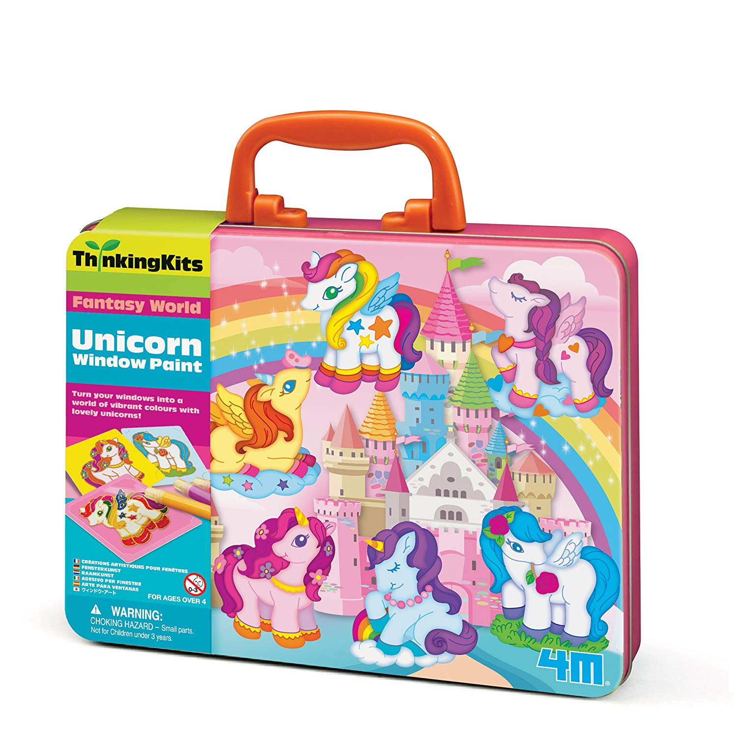4M Thinking Kits – Unicorn Window Paints