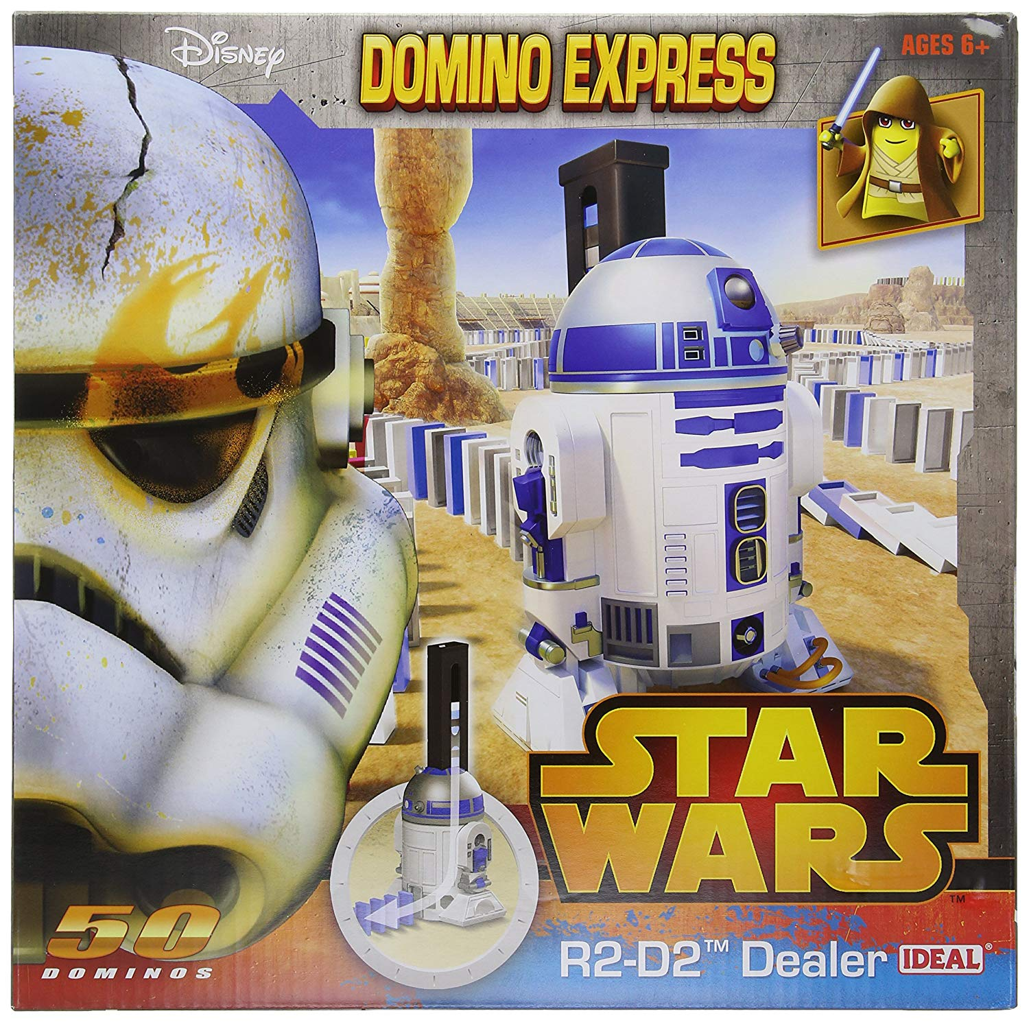 Domino Express Star Wars R2D2 Auto Dealer (50 pcs)