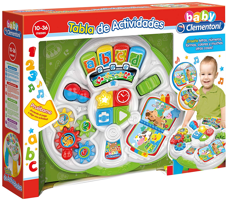 Baby Clementoni–Educational Multi Games Table (55199.6)