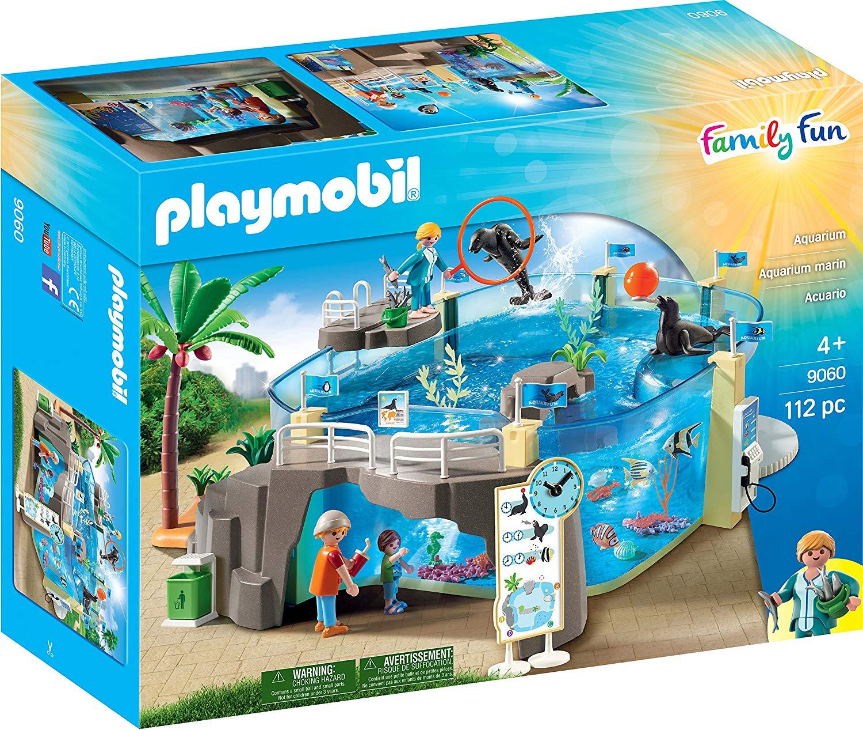 Playmobil 9060 Family Fun Aquarium with Fillable Water Enclosure