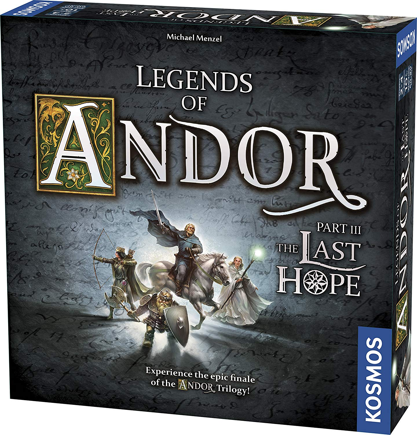 Thames and Kosmos 692803 III Legends of Andor Part 3 The Last Hope Game