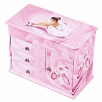 Trousselier Chest of Drawers with Music Ballerina Figure