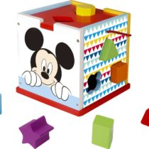 Be Imex Be TY006 12 Pieces MDFPly Wooden Block Toy Set, 15.5 x 15.5 x 16 cm, Multi-Color