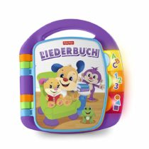 Fisher-Price FRC68 learning fun songbook learning toy for letters numbers and shapes, from 6 months German-speaking, purple