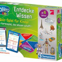 Clementoni 69808 – Galileo Kids Knowledge Quiz