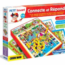 Clementoni – 62707-ADN – Connecte et Réponds Educational Game [French Version]