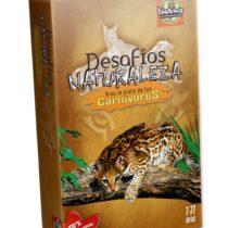 Bioviva 281027 Nature Challenges Animals-Carnivoros Card Game, Multi-Color
