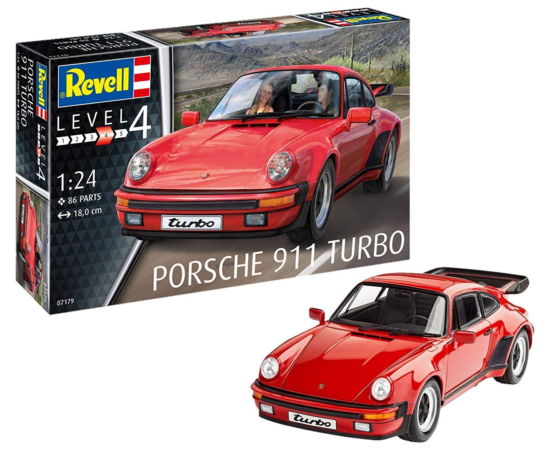 07179 – Porsche 911 Turbo, 1:25 Scale