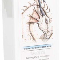 Dragon Shield 4 Compartment Storage Box (White)