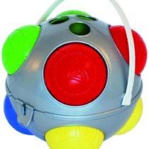 ADRIATIC 791 Bowls Set in Metallic Colour Round Basket, 80 cm Dia, Multi-Color