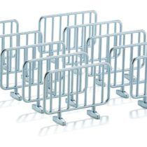 SIKU 2464 Model Road Barriers 10-Piece Assorted Colours