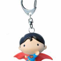 Funbox Media 60708 DC Comics Superman Keyring, Multi-Coloured, 6cm