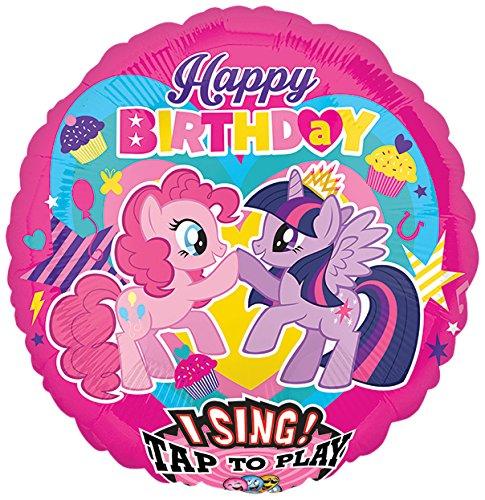 amscan 3165601 My Little Pony Jumbo Sing-A-Tune Decoration Set (X-Large)