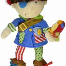 Manhattan Toy Dress Up Stuffed Pirate Doll for Toddlers