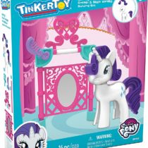 K'NEX TINKERTOY My Little Pony Rarity Create and Style Vanity Building Set for Ages 3 and Up, Preschool Toy, 14 Pieces