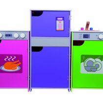 Andreu Toys 16310 Modular Cooker Toy, Pink, 39 x 33 x 60 cm
