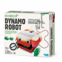 "4M ""Green Science Dynamo Robot Toy (Multi-Colour)"