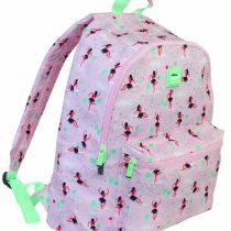 Aloha Pink Canvas Backpack 41 x 30 cm
