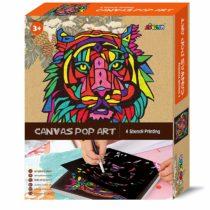 Avenir Canvas Pop Art – Tiger Kit
