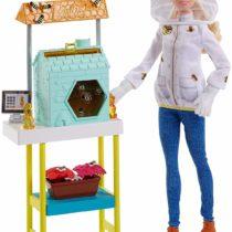 Barbie Careers Doll, Beekeeper Playset with Accessories