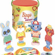 Vilac Vilac6130 Animals Bingo Game, Multi-Color