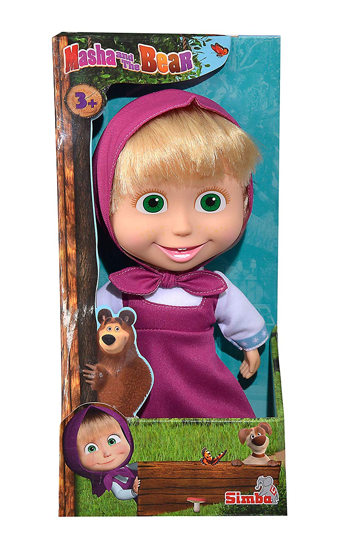 Masha and the Bear – Masha Soft Doll – 23cm