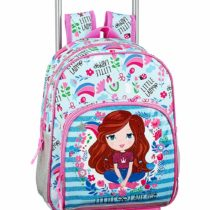 Glowlab Kids Official Backpack with SAFTA Trolley 705