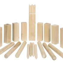 GoKi Wooden Kubb Viking Chess