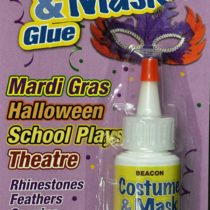 Costume & Mask Glue 29 ml  Medium Dries Bottle, Clear