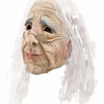 Bristol Novelty BM236 Old Woman Mask, Womens, Beige, One Size
