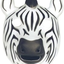 Wild Republic Mask 21 x 19cm for Children and Adults Zebra