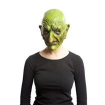 Viving Costumes 203605 Old Witch Mask, Multi Color, One Size