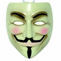 Rubie's Official V for Vendetta Mask, Adult Size – One Size