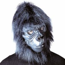 Gorilla Mask With Plush Hair Ape Masks Eyemasks & Disguises for Masquerade Fancy Dress Costume Accessory