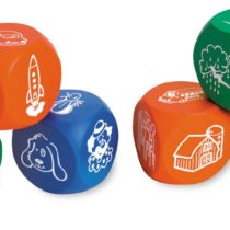 Learning Resources Soft Foam Story Starter Picture Cubes
