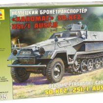Zvezda 500783572 – 1:35 WWII Hanomag special-purpose motor vehicle-251/1 type B
