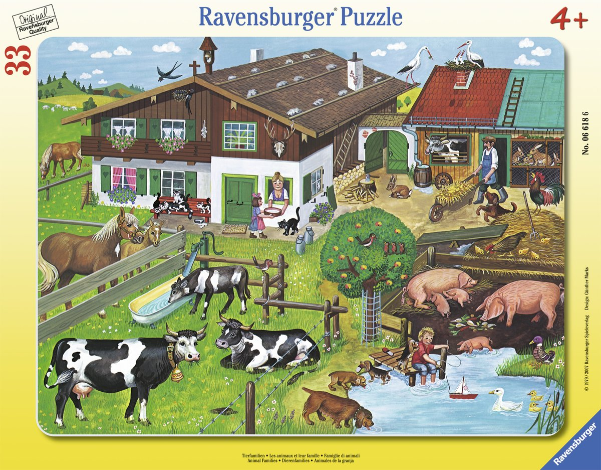 Ravensburger Animals and families 30-3