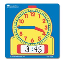 Learning Resources Write-Clean Student Clocks