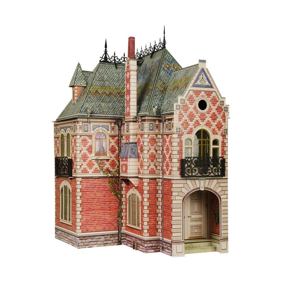 Keranova 329 Clever Paper Doll House II 3D Puzzle, 40.5 x 42.5 x 60 cm, Multi Color