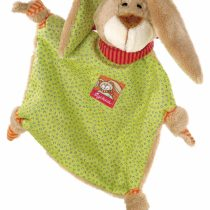 sigikid, girls and boys, bunny bunny, Wombel Bombel, green / brown, 48088
