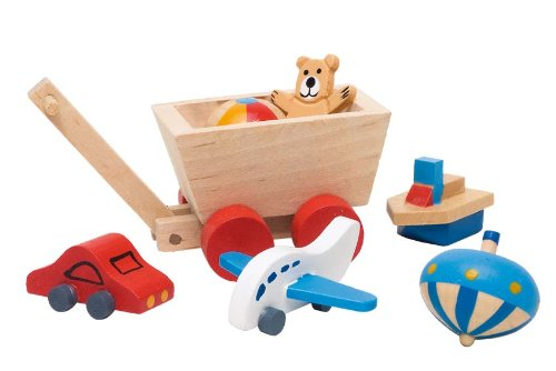 GoKi Wooden Childrens Room Accessories for Dolls Houses