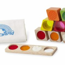 Andreu Toys WW-2511 Wonder Sensory Blocks, Multi-Colour, 8 x 17 x 20 cm