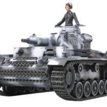 Tamiya 300035290–1:35WWII German Battle Tank III Design N