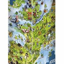 United Dragons of Europe, 4000 piece Puzzle
